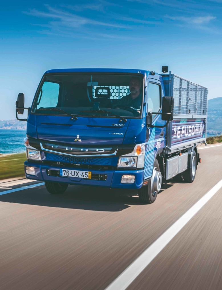 Mitsubishi Fuso lays the foundation for electric commercial vehicles in the eLab