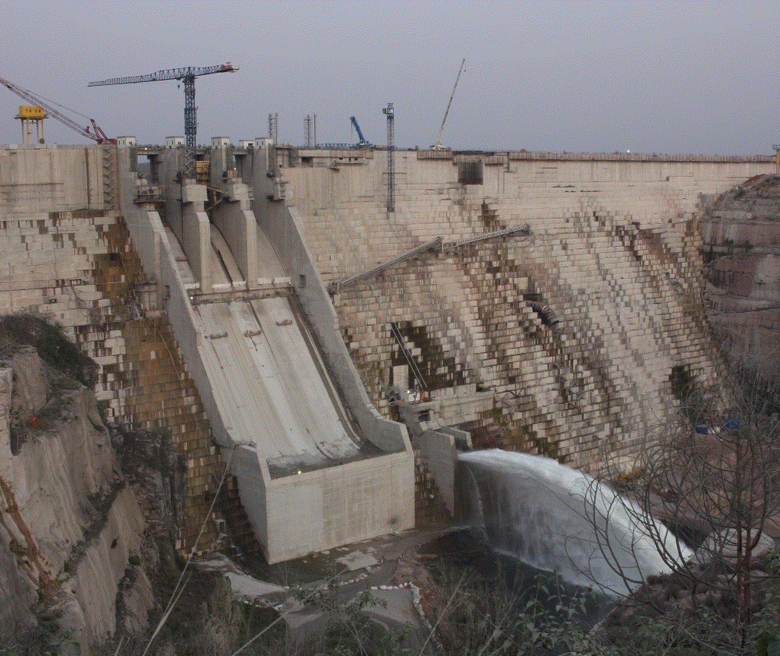 Africa's second largest hydroelectric plant