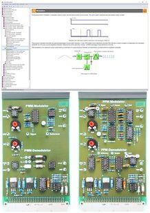 Lucas Nülle - Course Pulse modulation methods PWM, PPM