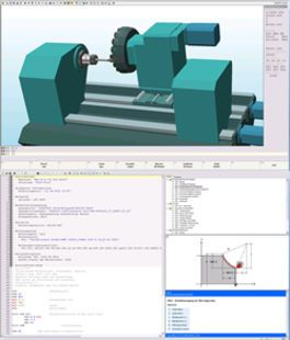 Lucas Nülle - Lathe machine programming software with 3D simulation